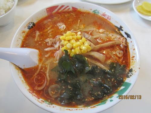 「酸辣麺(サンラーメン)」@手打ちらーめん 本丸の写真