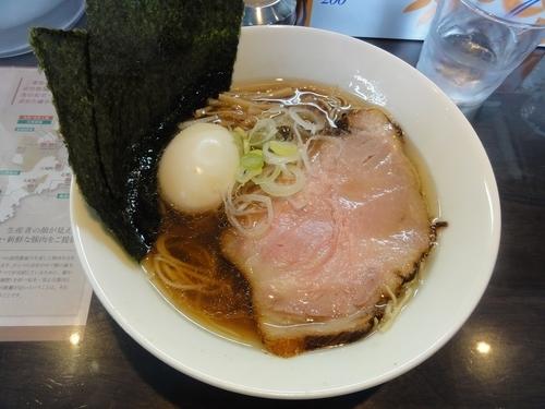 「特製正油らぁ麺」@麺や青雲志の写真