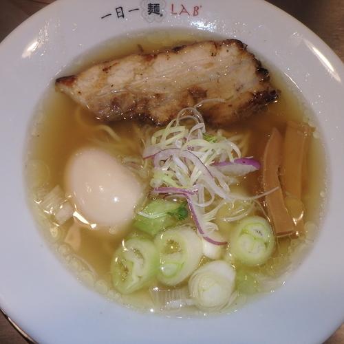 「いつものやつ(ライト)(800円→700円(クーポン))」@一日一麺LAB+の写真
