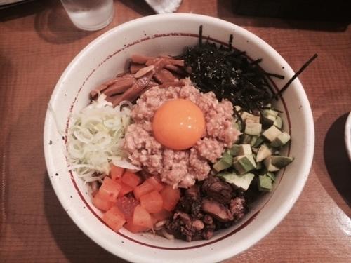 「まぜそば」@麺屋 えぐちの写真