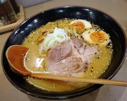 「味玉味噌 842円」@麺処 せんじんの写真
