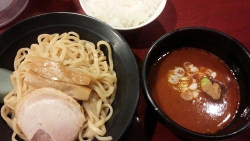 「辛つけ麺」@藤井家の写真