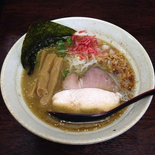 「鶏白湯 醤油ラーメン」@麺屋 味翔の写真