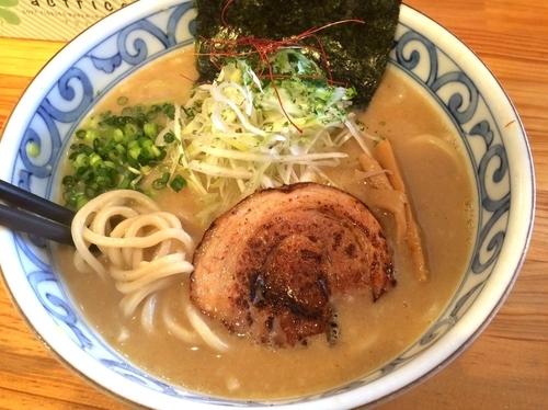 「【冬季限定】白味噌らぁめん(800円)」@麺屋 花菱の写真
