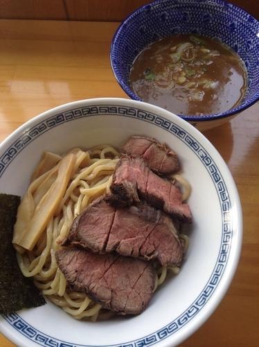 「つけ麺 中 ➕ローストビーフ」@麺処TANAKAの写真