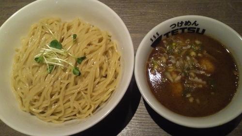 「つけ麺(特盛)・味玉」@つけめんTETSU あざみ野店の写真