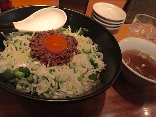 「汁なし担々麺」@麻布麺房どらいちの写真