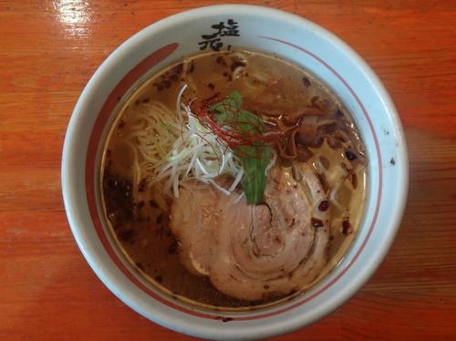 「天然塩ラーメン」@京都 塩元帥の写真