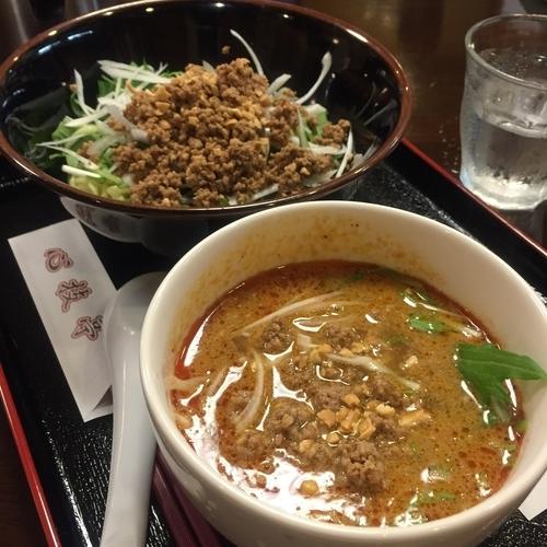 「日替わりセット(¥800)」@四川料理 心技亭の写真
