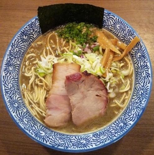 「極上濃厚煮干しそば:780円」@煮干しつけ麺 宮元の写真