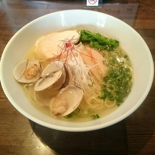 「蛤そば @950円」@麺や ハレル家の写真