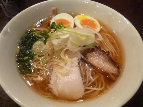 「鶏そば」@麺屋くまがいの写真