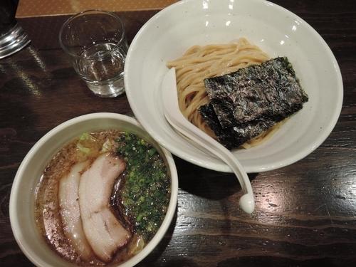「醤油つけ麺」@札幌 Fuji屋の写真