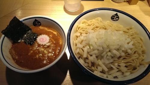 「辛いつけ麺、特盛」@つけめん 玉 町田店の写真