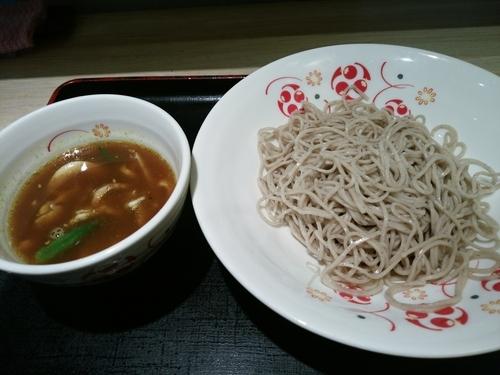 「スープカレーつけ蕎麦520円」@いろり庵きらく 上野店の写真