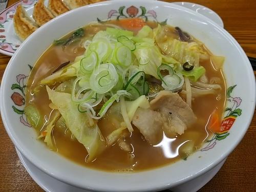 「【限定】野菜煮込みラーメン +餃子:試食券」@餃子の王将 松本島内店の写真