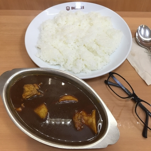 「カシミールカレー」@デリー 上野店の写真