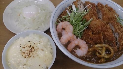 「【弥生の一杯】カレーぶっかけC(極チキンカツ)」@MENYA 食い味の道有楽の写真