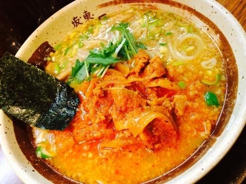 「うま辛 肉剛麺」@中華そば 坂東 山口屋の写真