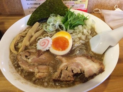 「こってり中華そば」@らー麺Chopの写真