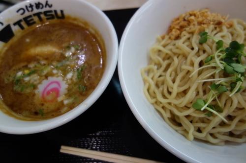 「つけめん800円」@つけめん TETSU ららぽーと新三郷店の写真