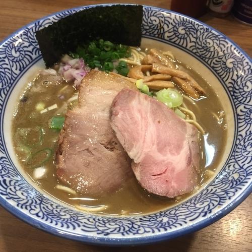 「極上濃厚煮干しそば(¥780)」@煮干しつけ麺 宮元の写真