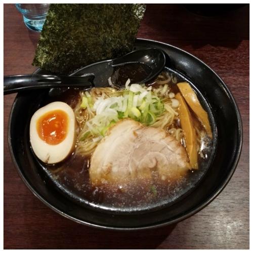 「和風魚介醤油ラーメン」@ラーメン春樹 新秋津店の写真
