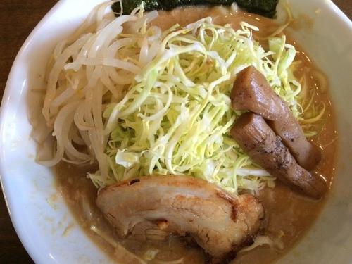 「【限定】春キャベツと鶏味噌ソバ 800円」@ラーメン 和なりの写真