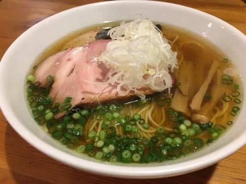 「煮干(醤油)+チャーシュー」@喜乃壺の写真