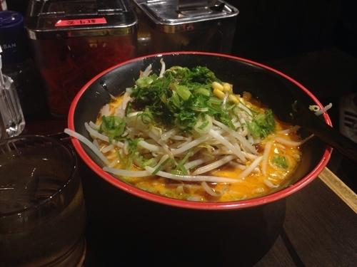 「焦がし味噌ラーメン 820円」@だるまのめ 本厚木店の写真