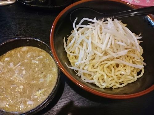 「黒ごま味噌つけ麺 700円」@ハッスルラーメンホンマ 浅草店の写真