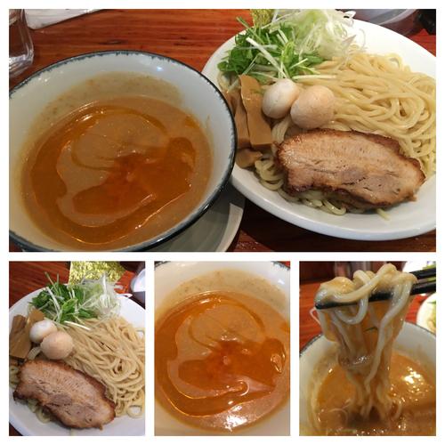 「期間限定 濃厚海老つけ麺  864円」@麺や 来味の写真