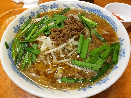 「台湾ラーメン (大盛り)」@ごはん家 いちばん食堂 諏訪店の写真