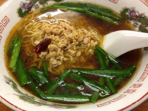 「台湾ラーメン ¥550」@台湾料理 味味 本店の写真