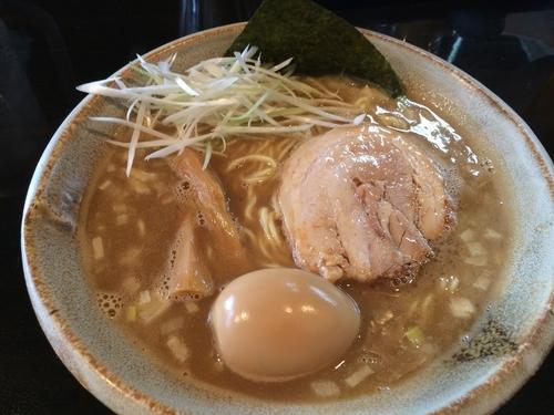 「味玉豚そば」@まるぶし とんやの写真