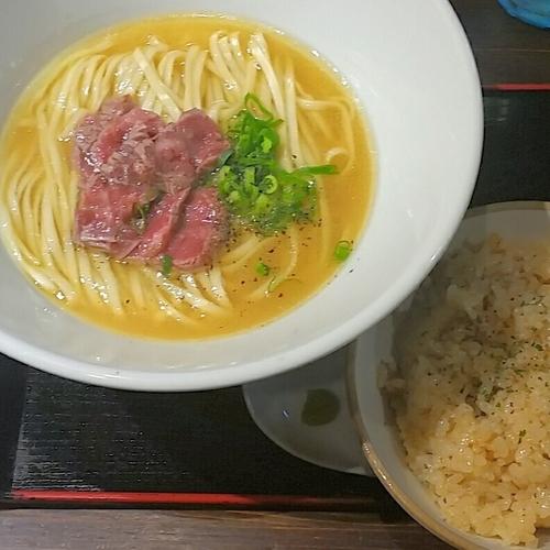 「松阪ラーメンセット 3100円」@麺や 蒼 AOIの写真
