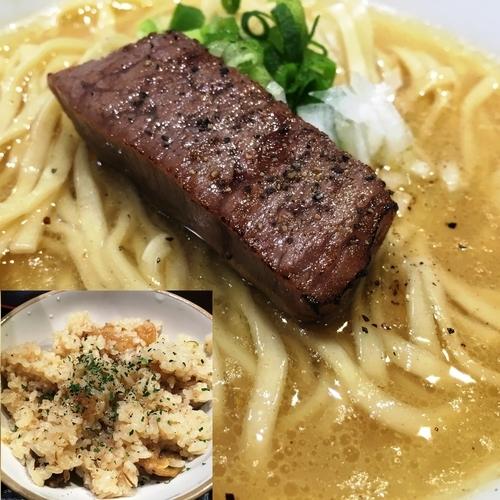 「【限定】松坂ラーメンセット」@麺や 蒼 AOIの写真