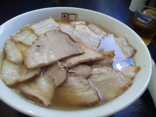 「焼豚ラーメン 940円」@喜多方ラーメン坂内 東部町店の写真