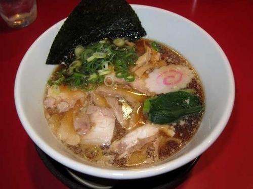 「生姜醤油焼豚麺 820円」@越後秘蔵麺 無尽蔵 花園家の写真