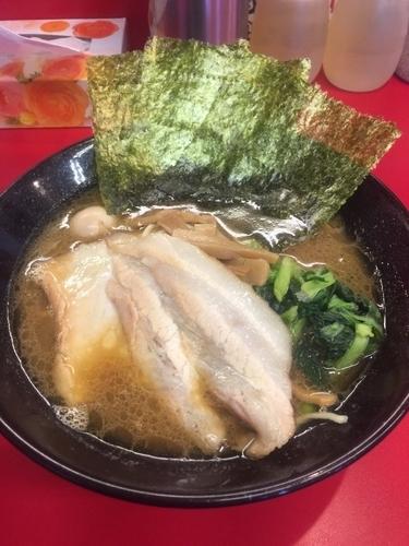 「チャーシュー麺、硬め濃いめ」@横濱家系ラーメン 横道家の写真