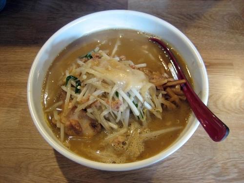 「味噌ラーメン(野菜大盛)800円」@味噌麺処 楓の写真
