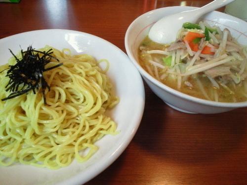 「野菜つけめん(塩) 650円」@ラーメンねぎっこ 北福島店の写真