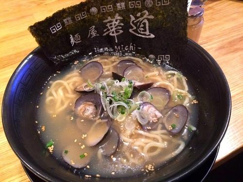 「大粒しじみラーメン(880円)」@麺屋 華道の写真