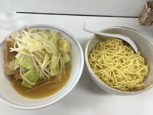 「軍鶏の鶏油かけ海老塩つけ郎 麺300g (900円)」@ラーメンKAZE 本店の写真