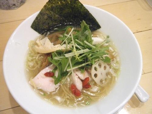 「期間限定:鶏塩SOBA 800円」@セサミ vege noodleの写真