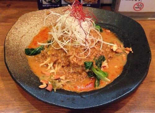 「冷し担々麺(期間限定)+半ライス(880円+150円)」@麺屋 匠堂の写真