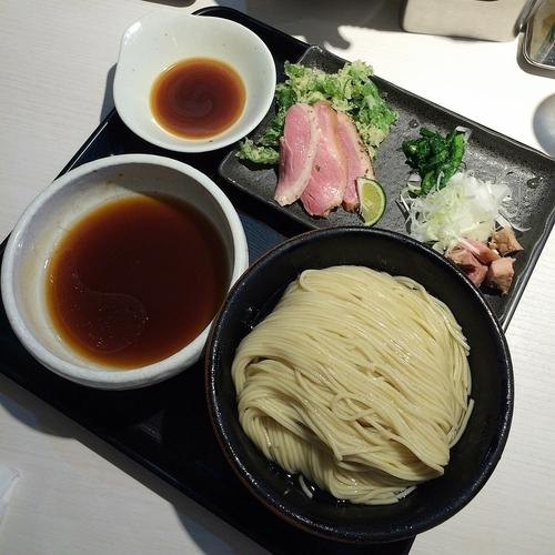 「鴨出汁淡麗細つけ麺 『カモーン1号』(中盛) ¥800」@煮干し中華そば 一燈の写真