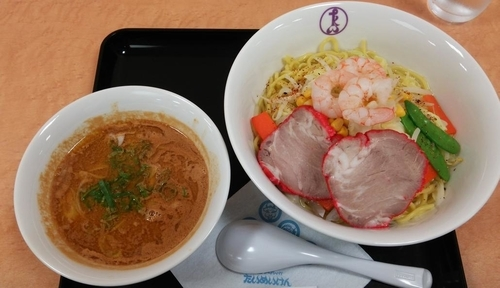 「五目味噌つけ麺:1180円」@たいめいけん 日本橋三越 江戸東京 味・技めぐりの写真