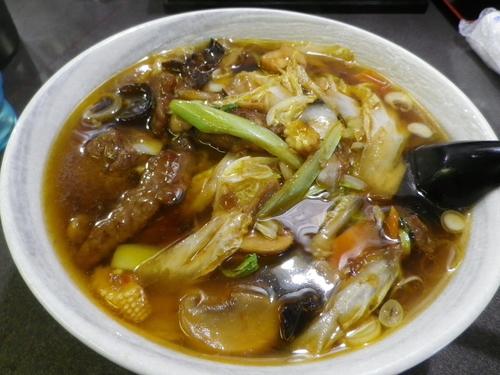 「牛肉麺」@福満軒の写真