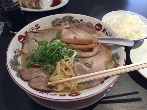 「チャーシュー麺 大盛り」@天下一品 上永谷店の写真